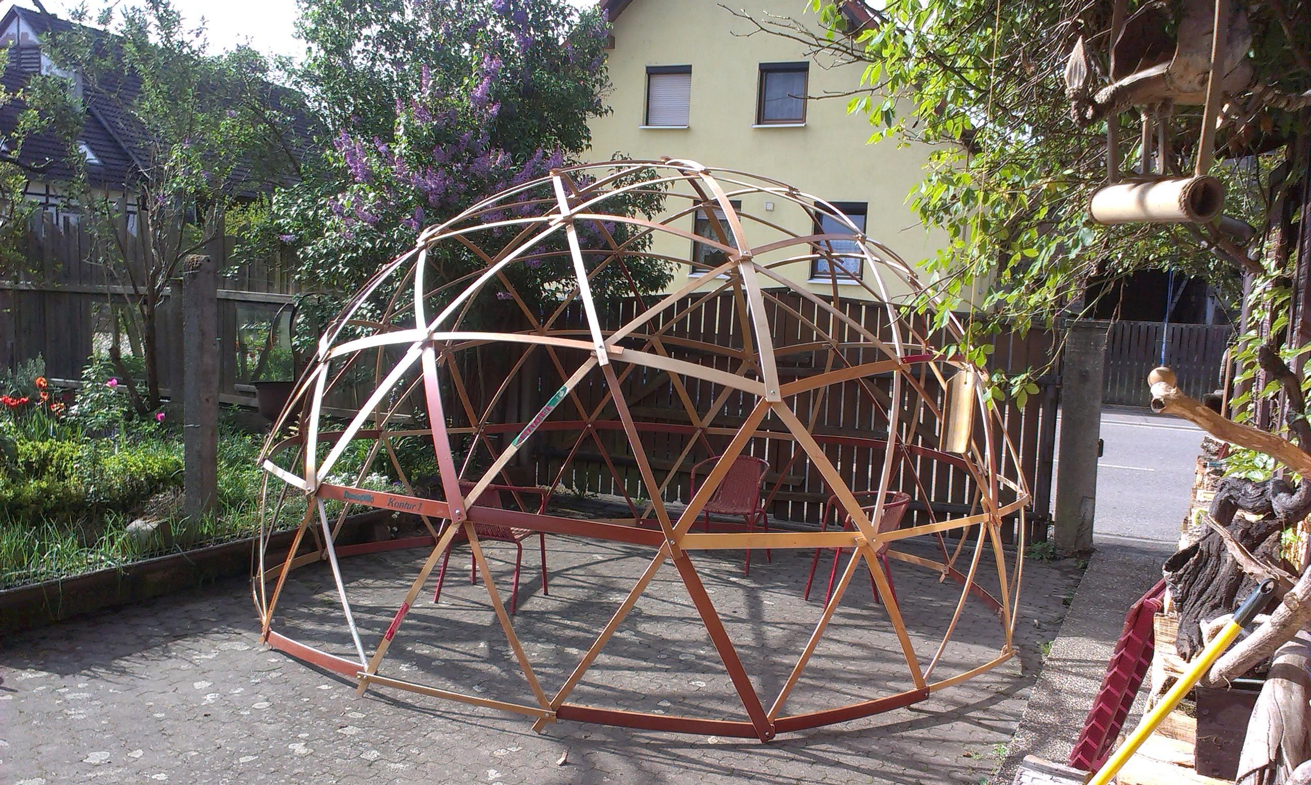 Geodätischen Kuppel assembly bau einer geodätischen kuppel geodesic dome